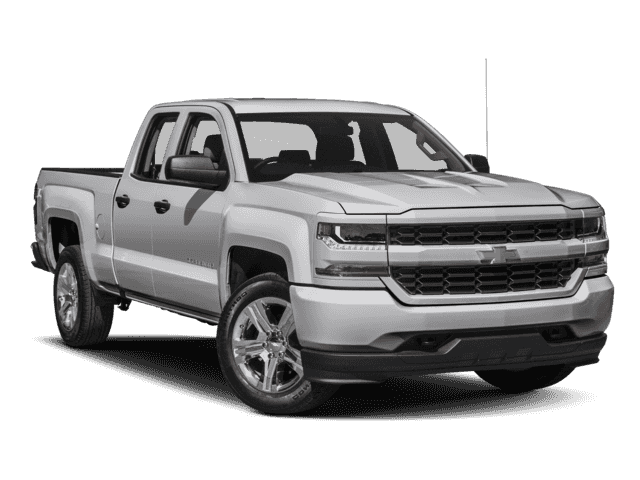 New 2018 Chevrolet Silverado 1500 Custom RWD Double Cab