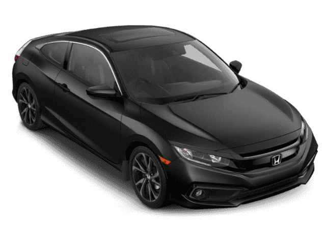 New 2019 Honda Civic Coupe Sport CVT