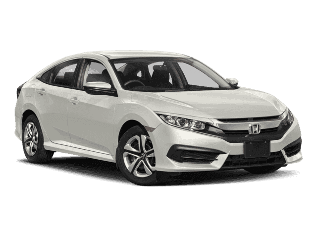New 2018 Honda Civic Sedan LX FWD 4dr Car