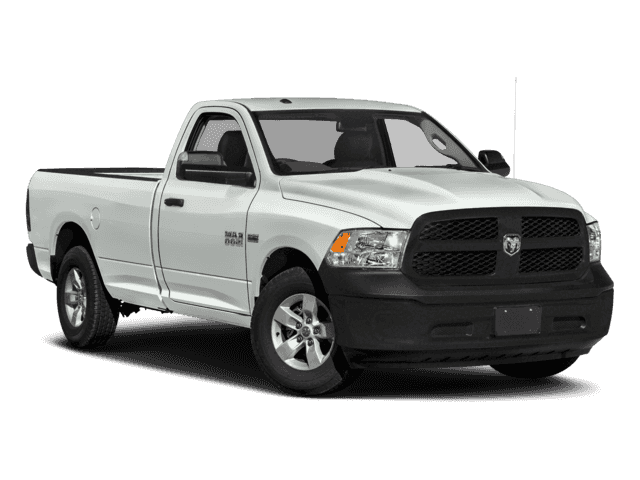 New 2018 Ram 1500 Tradesman 4x4 Regular Cab 8' Box