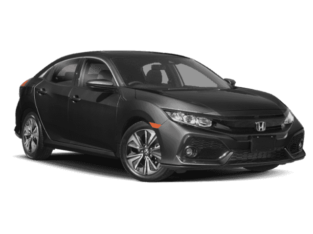 New 2018 Honda Civic Hatchback EX CVT w/Honda Sensing