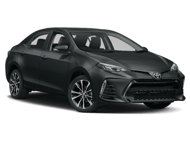 New 2019 Toyota Corolla Se Cvt 4dr Car In Santa Monica 19180057