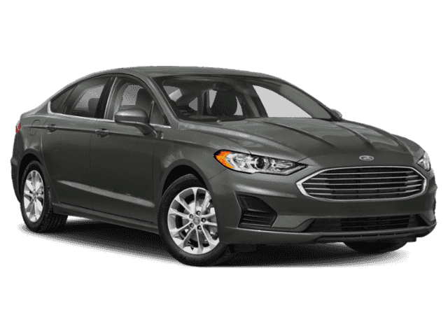 New 2019 Ford Fusion S Front-wheel Drive Sedan