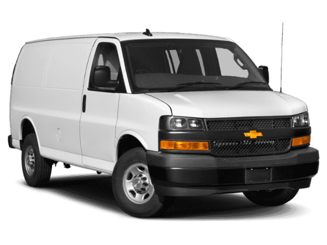 New 2019 Chevrolet Express Cargo Van