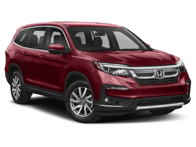 New 2019 Honda Pilot EX-L w/Rear Entertainment System