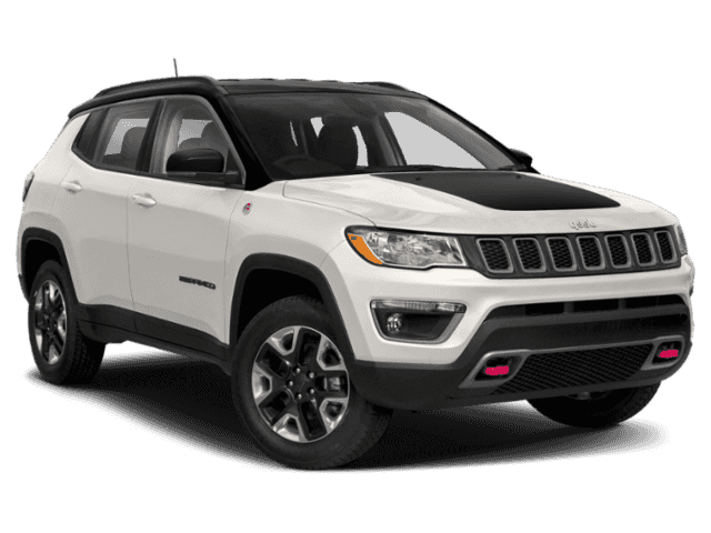 2020 Jeep Compass Trailhawk White
