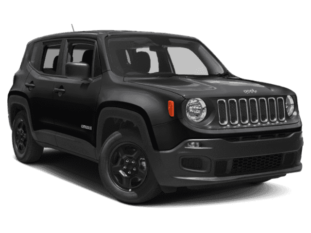 New 2018 JEEP Renegade JEEP RENEGADE LATITUDE 4X4