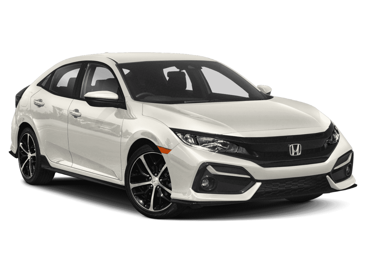 New 2020 Honda Civic Hatchback Sport CVT