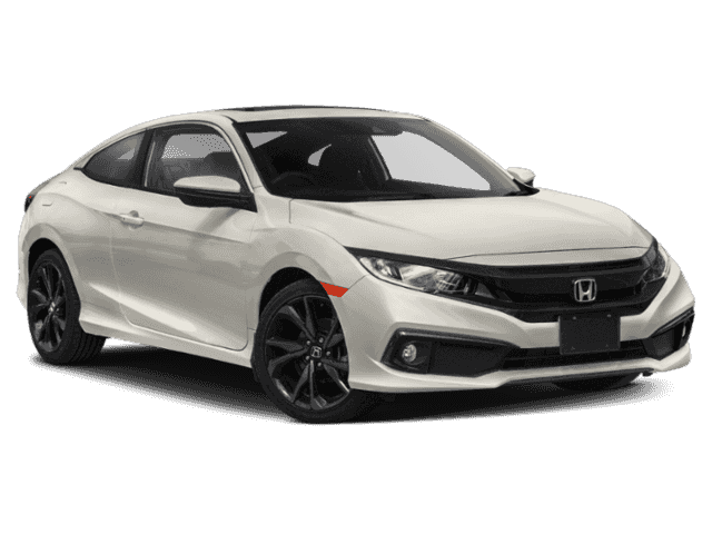 New 2020 Honda Civic Coupe Sport Manual