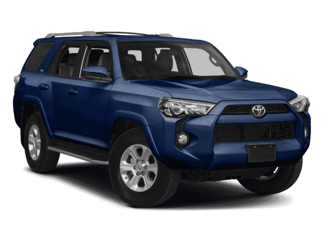 New 2017 Toyota 4Runner SR5 With Navigation & 4WD