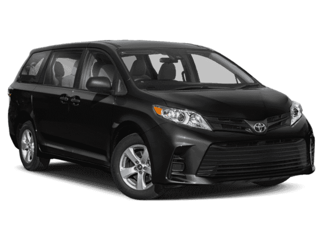 Stock #: 38096 Black 2020 Toyota Sienna Limited Premium 4D Passenger Van in Milwaukee, Wisconsin 53209