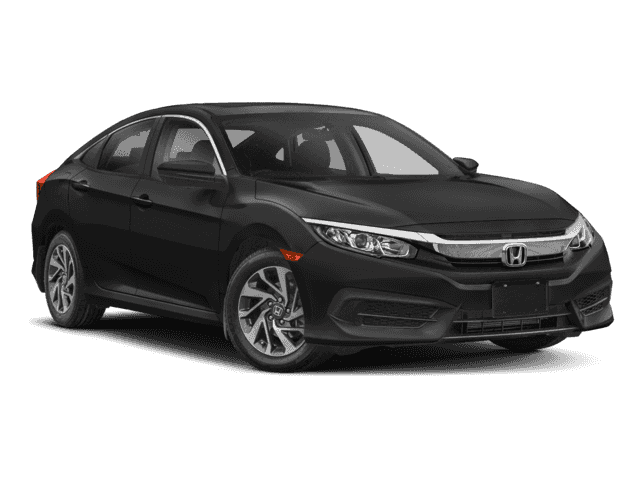 New 2018 Honda Civic EX FWD Sedan