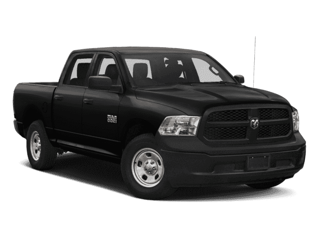 NEW 2018 RAM 1500 EXPRESS CREW CAB 4X4 5'7 BOX