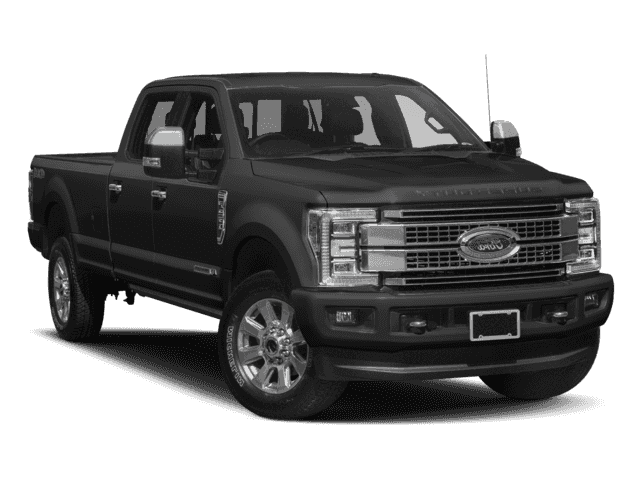 New 2018 Ford Super Duty F-350 SRW Platinum With Navigation & 4WD