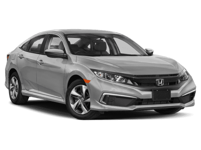 New 2020 Honda Civic Sedan LX  CVT FWD 4dr Car