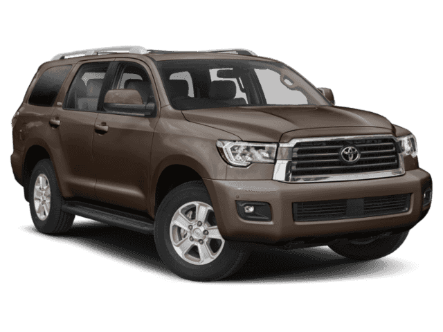 New 2019 Toyota SEQUOIA 4X4 PLAT 7-PASS 5.7L V8