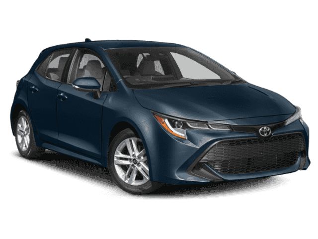 New 2019 Toyota Corolla Hatchback Se Cvt 4dr Car In Christiansburg