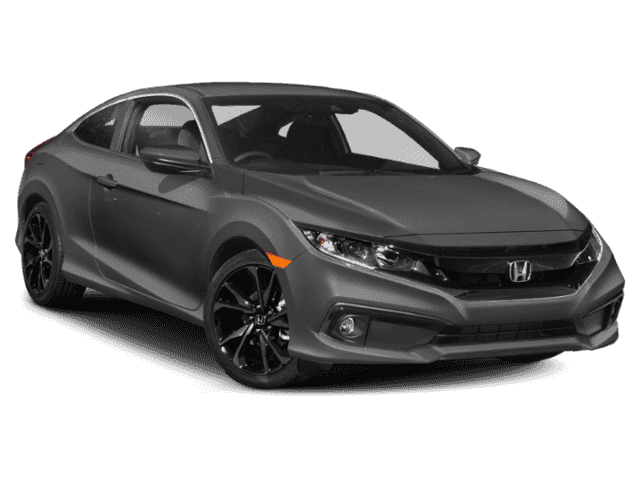 New 2019 Honda Civic Sport FWD 2D Coupe