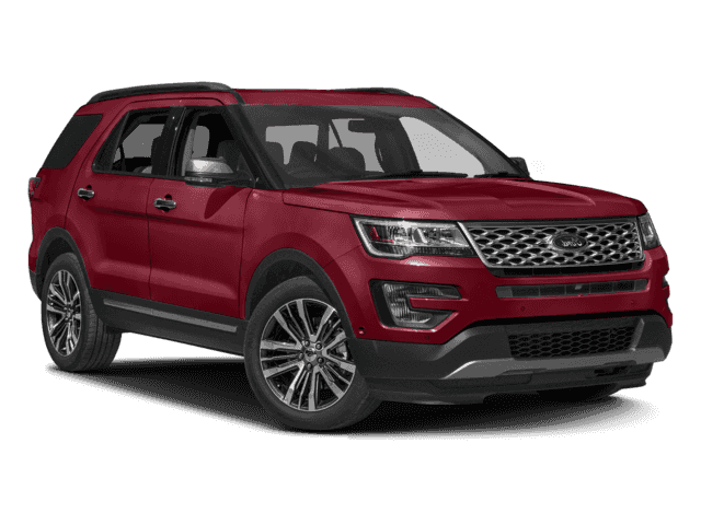 New 2017 Ford Explorer Platinum AWD