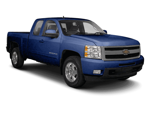 Pre-Owned 2011 Chevrolet Silverado 1500 4WD Ext Cab 143.5 LT