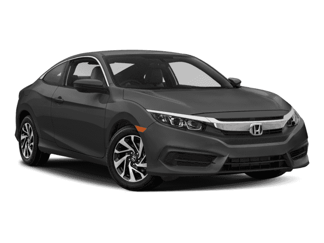 New 2018 Honda Civic Coupe LX Front Wheel Drive 2dr Car