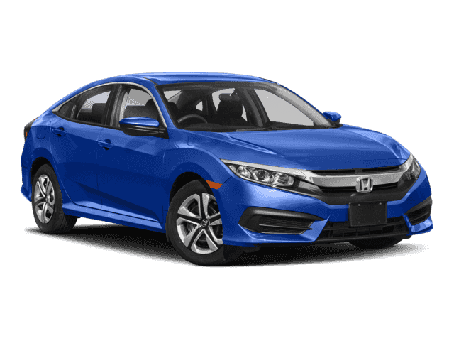 New 2018 Honda Civic LX FWD 4D Sedan