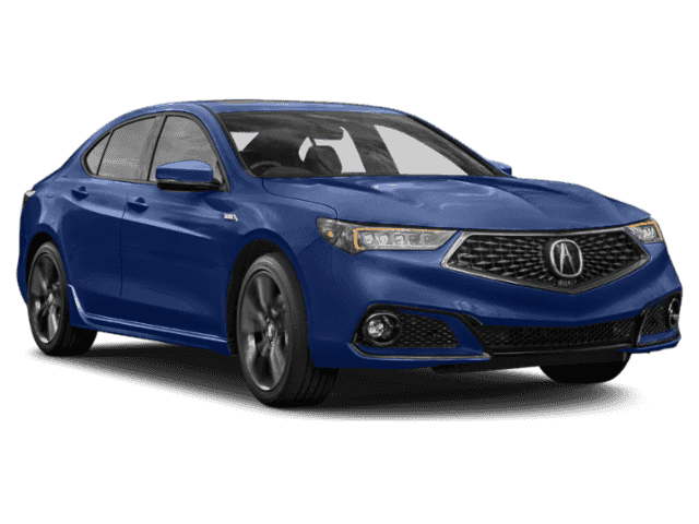 New 2019 Acura TLX w/A-SPEC Pkg Red Leather With Navigation