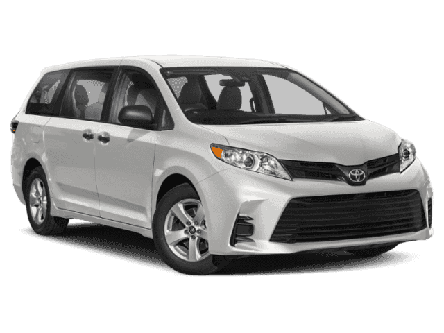 New 2019 TOYOTA Sienna LE 3.5L FWD (8 Psgr)