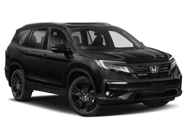 New 2021 Honda Pilot Black Edition AWD