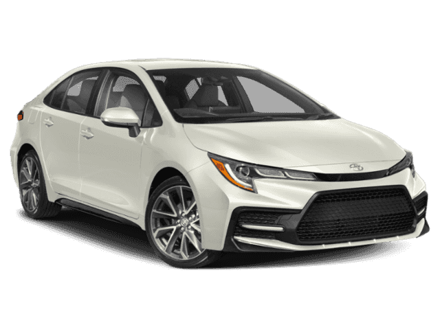 New 2020 Toyota Corolla Se 4dr Car In Cathedral City 239537