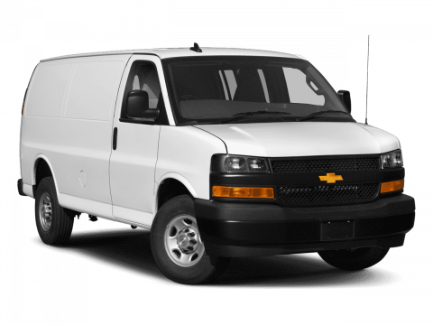 New 2018 Chevrolet Express Cargo Van Work Van