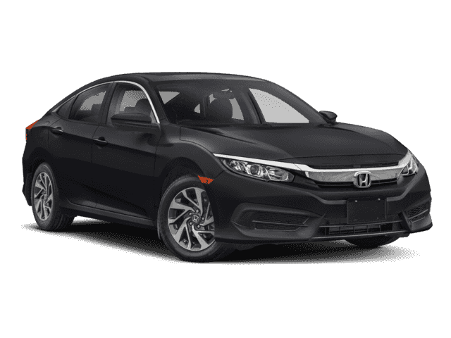 New 2018 Honda Civic EX CVT