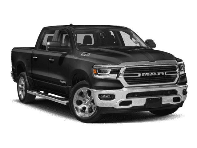 New 2019 RAM 1500 LARAMIE CREW CAB 4X4 57 BOX