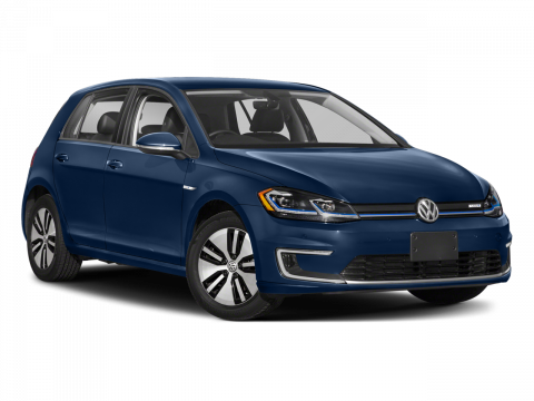 New 2017 Volkswagen e-Golf SE