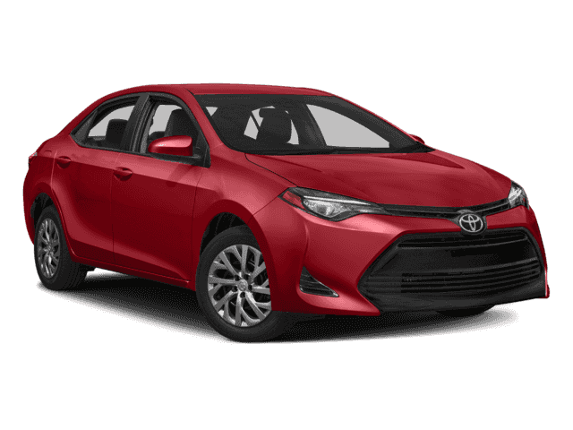 New 2018 TOYOTA Corolla 4Dr. Sedan LE Front Wheel Drive 4D