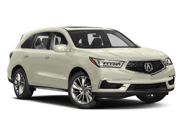 New 2018 Acura MDX Tech With Navigation & AWD