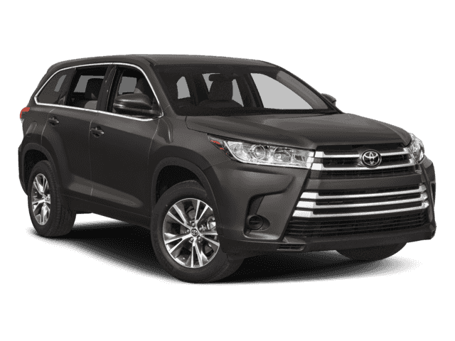 New 2018 TOYOTA Highlander LE Plus V6 Fwd Front Wheel Drive UT
