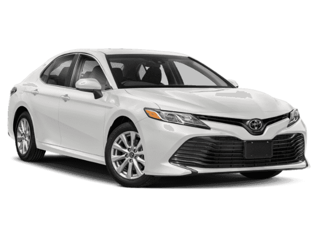 Stock #: 38204 White 2019 Toyota Camry LE 4D Sedan in Milwaukee, Wisconsin 53209