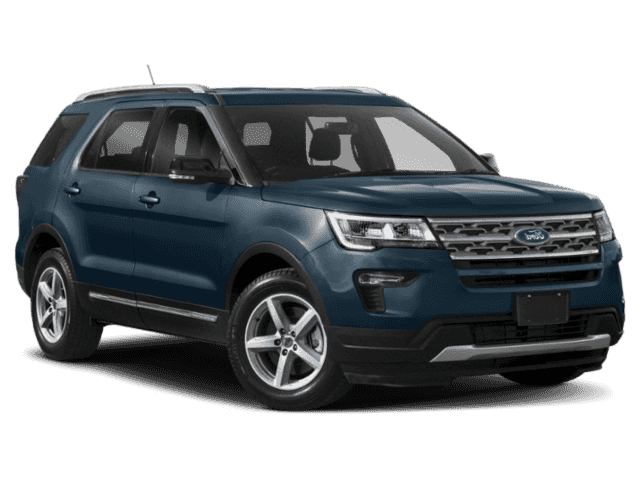 2019 Ford Explorer Limited With Navigation & 4WD