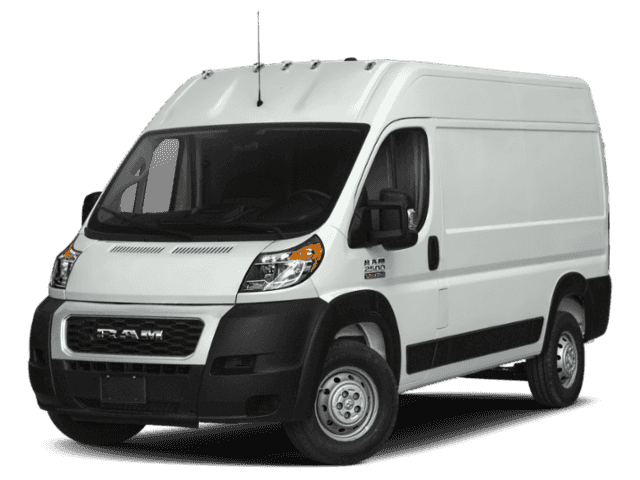 "NEW 2019 RAM PROMASTER 2500 CARGO VAN HIGH ROOF 159"" WB"