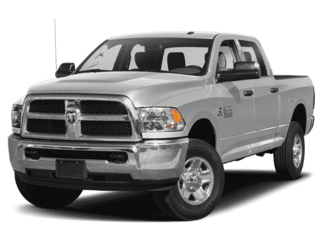 New 2018 RAM 3500 4x4 Crew Cab 8' Box