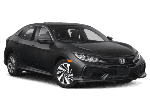 New 2019 Honda Civic LX FWD 4D Hatchback