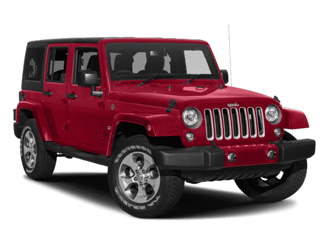 NEW 2018 JEEP WRANGLER JK UNLIMITED SAHARA 4X4