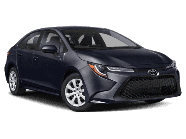 New 2021 Toyota Corolla LE Four-Door Sedan