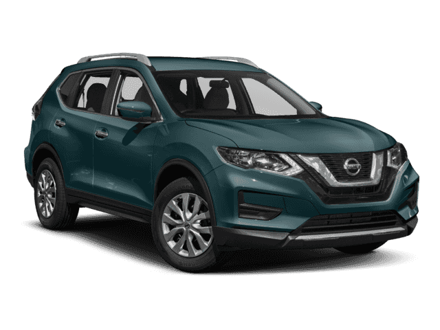 Pre-Owned 2017 Nissan Rogue 2017.5 AWD S