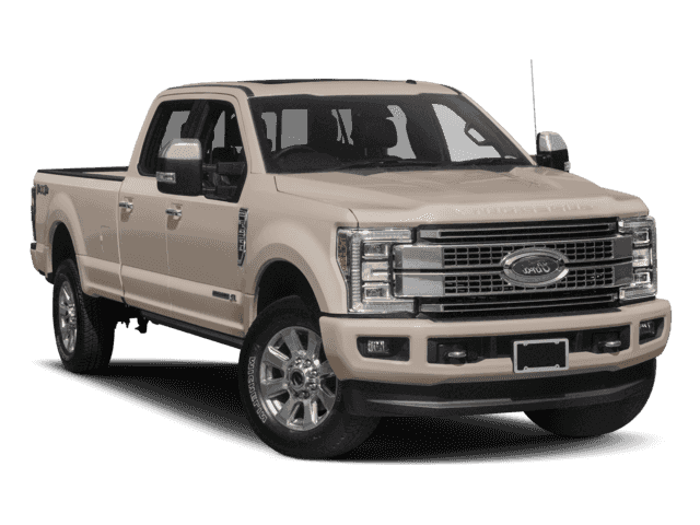 New 2018 Ford F-350 Diesel Platinum
