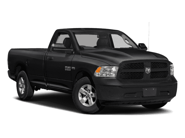 NEW 2018 RAM 1500 TRADESMAN REGULAR CAB 4X4 6'4 BOX