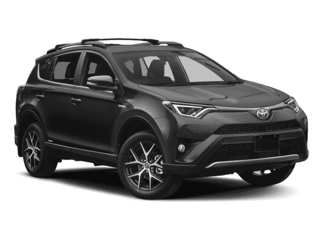 New 2018 TOYOTA RAV4 Hybrid SE 4WD All Wheel Drive UT