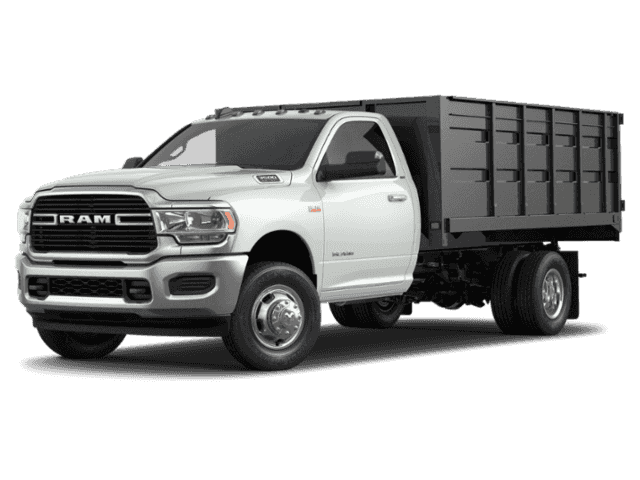New 2019 RAM 3500 Chassis Cab Tradesman Flatbed