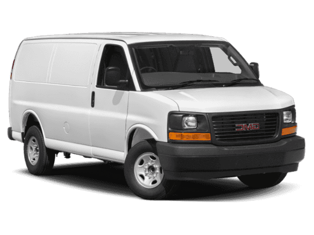 New 2019 GMC Savana Cargo Van Work Van